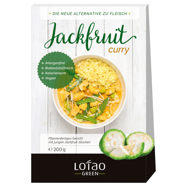 Lotao Bio Jackfruit Curry 200g