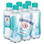 Gerolsteiner Mineralwasser Medium 6x0,33l