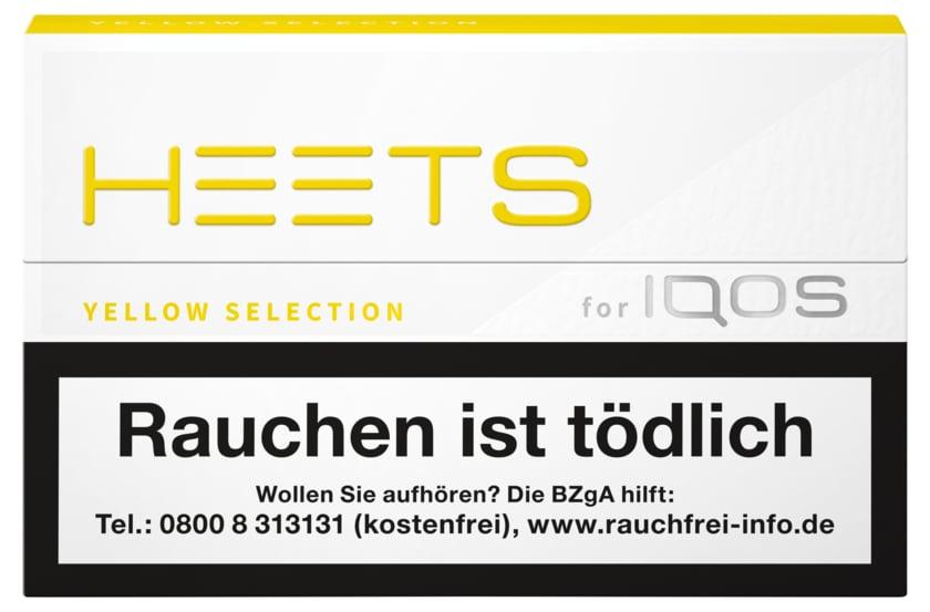 HEETS Tabaksticks Yellow Selection 20 Stück