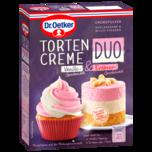 Dr. Oetker Tortencreme Duo Vanille & Erdbeer 86g