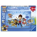 Ravensburger Puzzle Paw Ryder und Die Paw Patrol 2x12 Teile