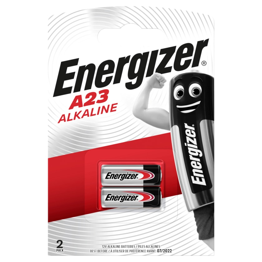 Energizer Spezialbatterien Alkaline Mangan A23 2 Stück