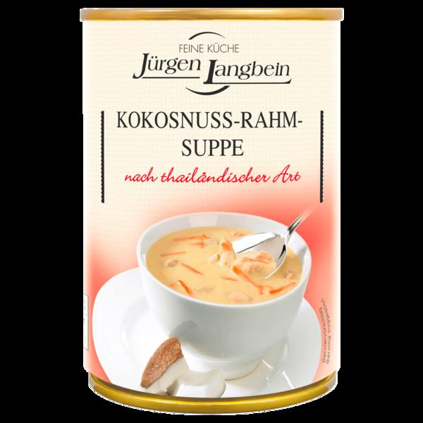 Jürgen Langbein Kokosnuss-Rahm-Suppe 400ml