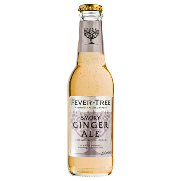 Fever Tree Smoky Ginger Ale 0,2l