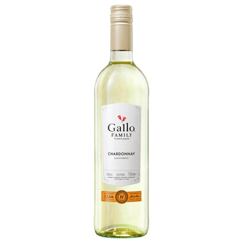 Gallo Weißwein Chardonnay halbtrocken 0,75l