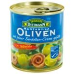 Feinkost Dittmann Oliven mit Sardellen-Creme 200g