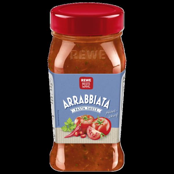 REWE Beste Wahl Arrabbiata Sauce 380ml