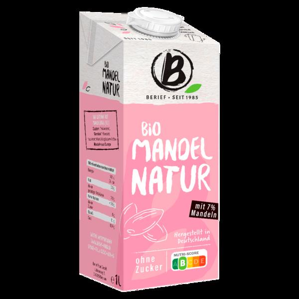 Berief Bio Mandel Drink ungesüßt 1l