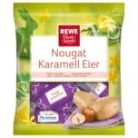REWE Beste Wahl Nougat Karamell Eier 105g