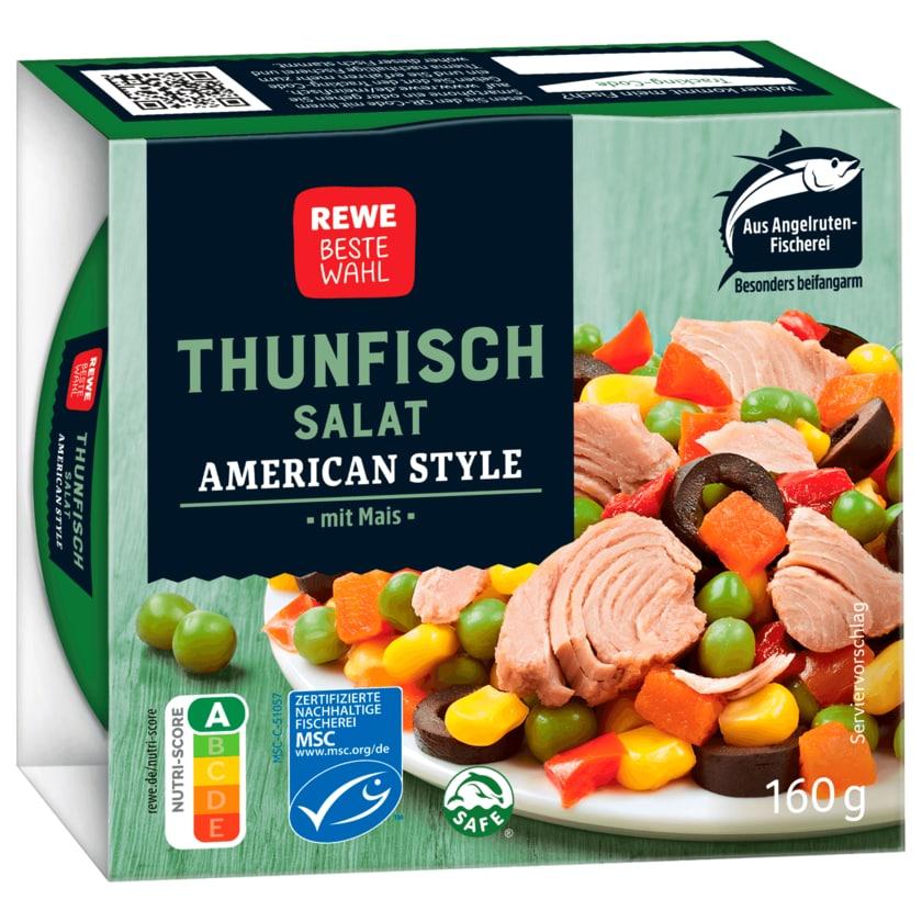 REWE Beste Wahl Thunfisch Salat american 160g