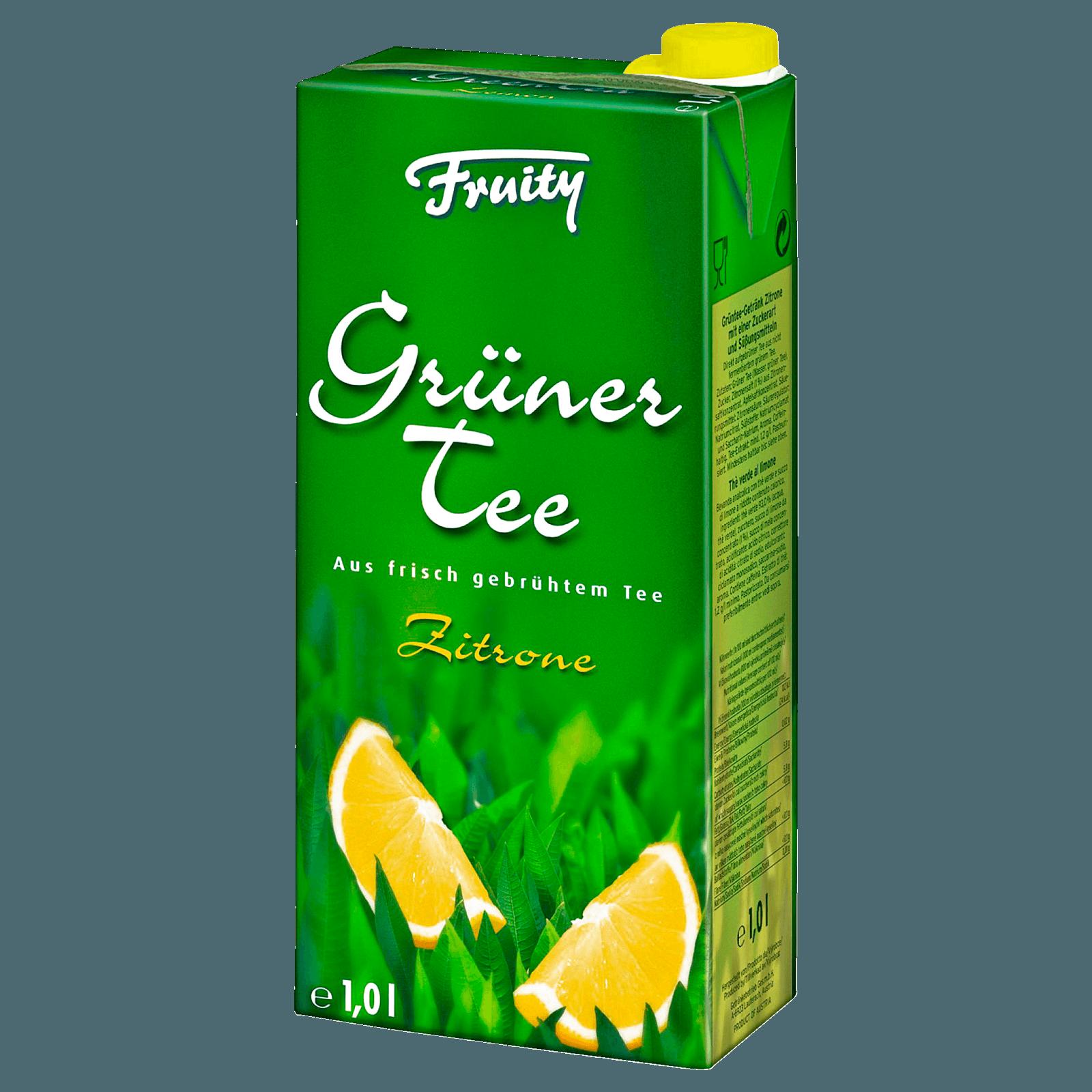 Grüner Tee mit Zitrone zum Abnehmen