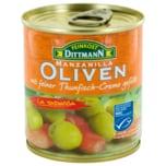 Feinkost Dittmann Spanische Oliven mit Thunfisch-Creme 200g