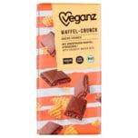 Veganz Bio Rice Choc Waffel-Crunch 80g