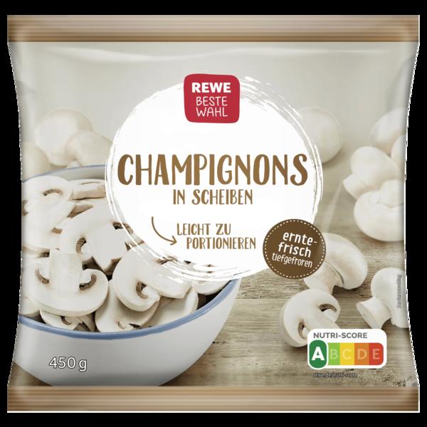 REWE Beste Wahl Champignons in Scheiben 450g