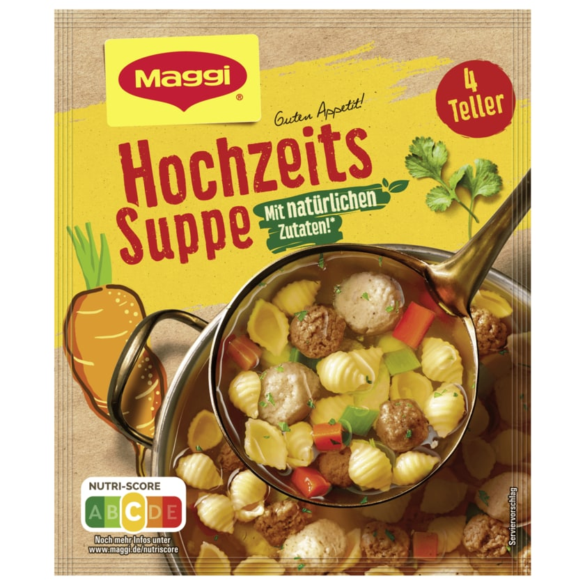 Maggi Hochzeits Suppe 1l