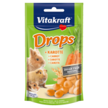 Vitakraft Drops Karotte zuckerfrei Nager 75g