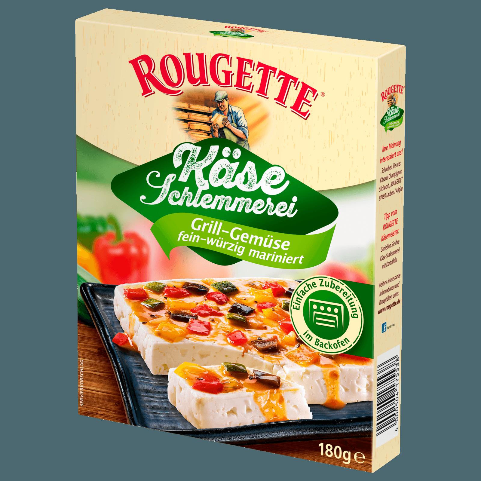 Rougette Käse-Schlemmerei Grill-Gemüse fein-würzig 180g