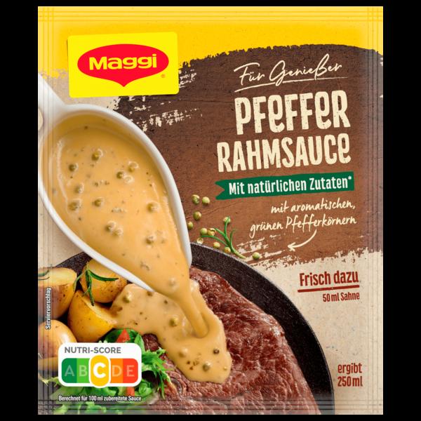 Maggi für Genießer Pfeffer-Rahmsauce 250ml