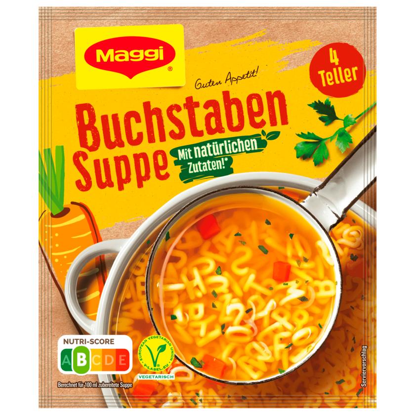 Maggi Buchstaben Suppe, ergibt 1l