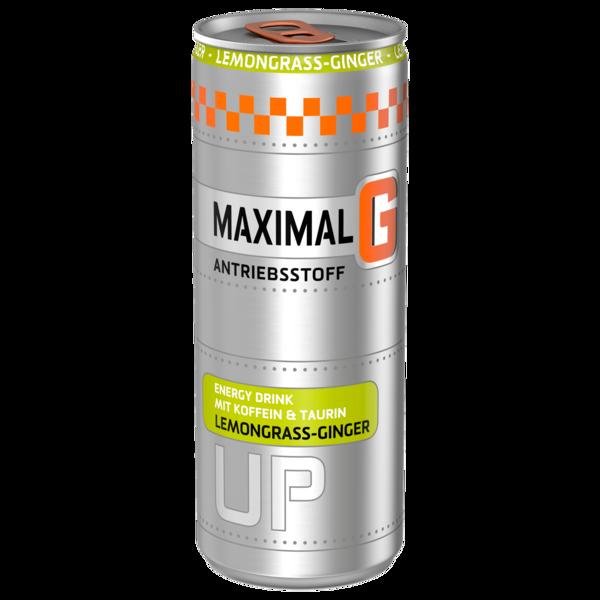 Maximal G Energydrink Lemongrass-Ginger 0,25l