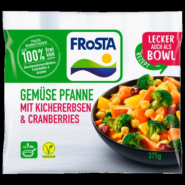 Frosta Gemüse Pfanne mit Kichererbsen & Cranberries 375g