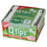 Q-Tips Bio Wattestäbchen Box 160 Stück