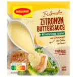 Maggi für Genießer Zitronen-Buttersauce, ergibt 300ml