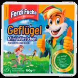 Ferdi Fuchs Geflügel Mini Würstchen 100g