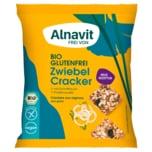 Alnavit Bio Zwiebel Cracker mit Hanf & Chia 75g
