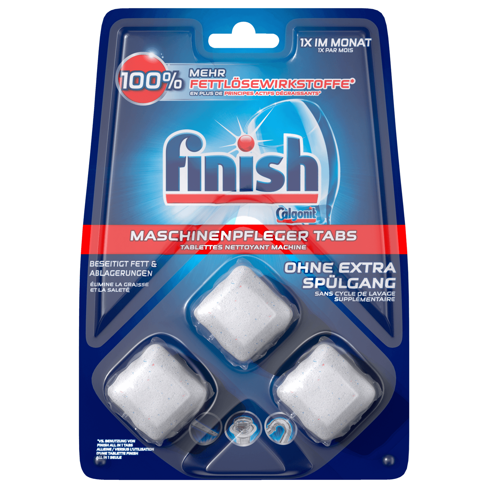 Finish Maschinenpfleger Tabs 3 Stück