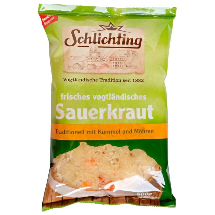 Schlichting frisches vogtländisches Sauerkraut 500g