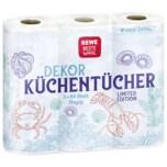 REWE Beste Wahl Dekor Küchentücher 3x80 Blatt