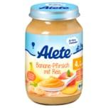 Alete Bio Banane-Pfirsich mit Reis 190g