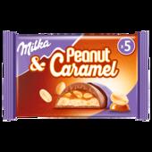 Milka Peanut and Caramel 5 Stück, 185g