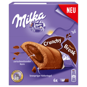 Milka Crunchy Break Choco 156g