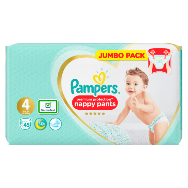 Pampers Premium Protection nappy pants Jumbo Pack 45 Stück