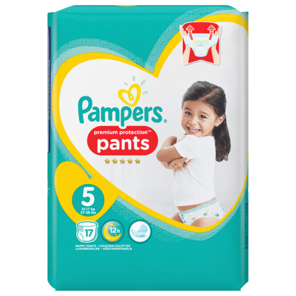 Pampers Premium Protection Pants Junior 17 Stk.
