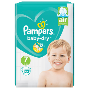 Pampers Baby Dry Gr.7 15+kg 23 Stück