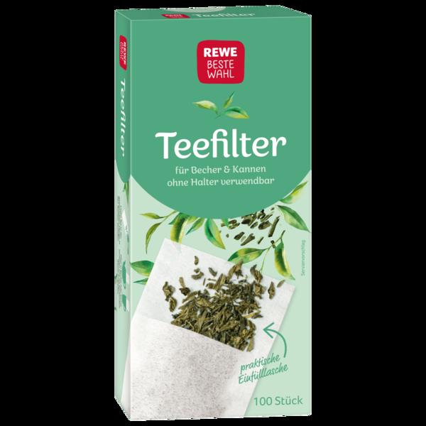 REWE Beste Wahl Teefilter halterlos 100 Stück