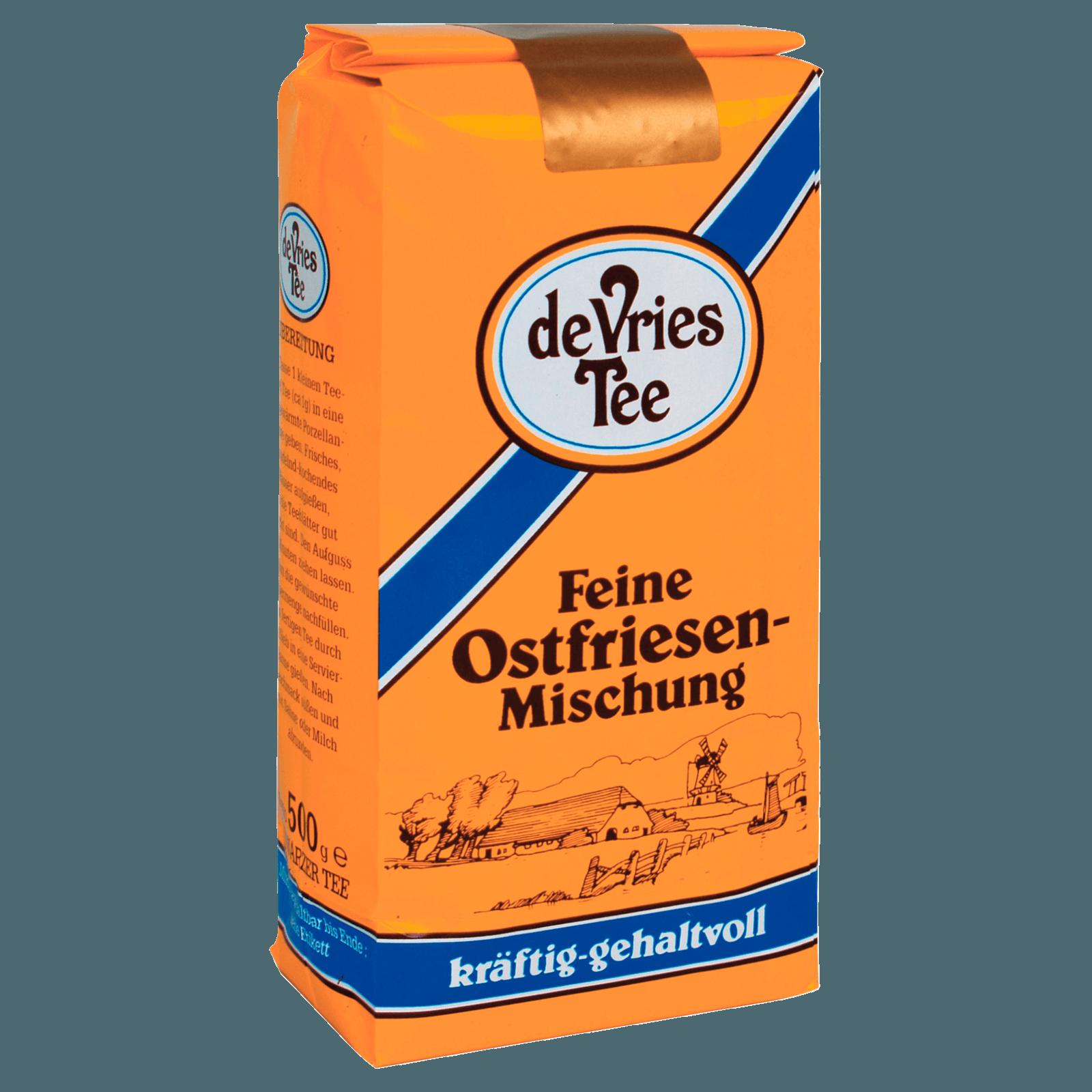 De Vries Tee feine Ostfriesenmischung 500g