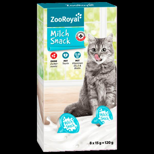 ZooRoyal Katzen Milch Snack 8x15g, 120g