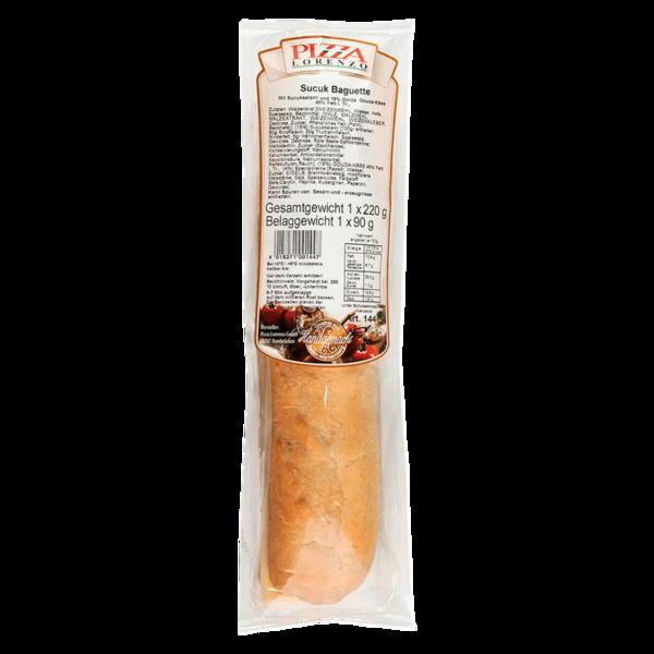 Pizza Lorenzo Sucuk Baguette 220g