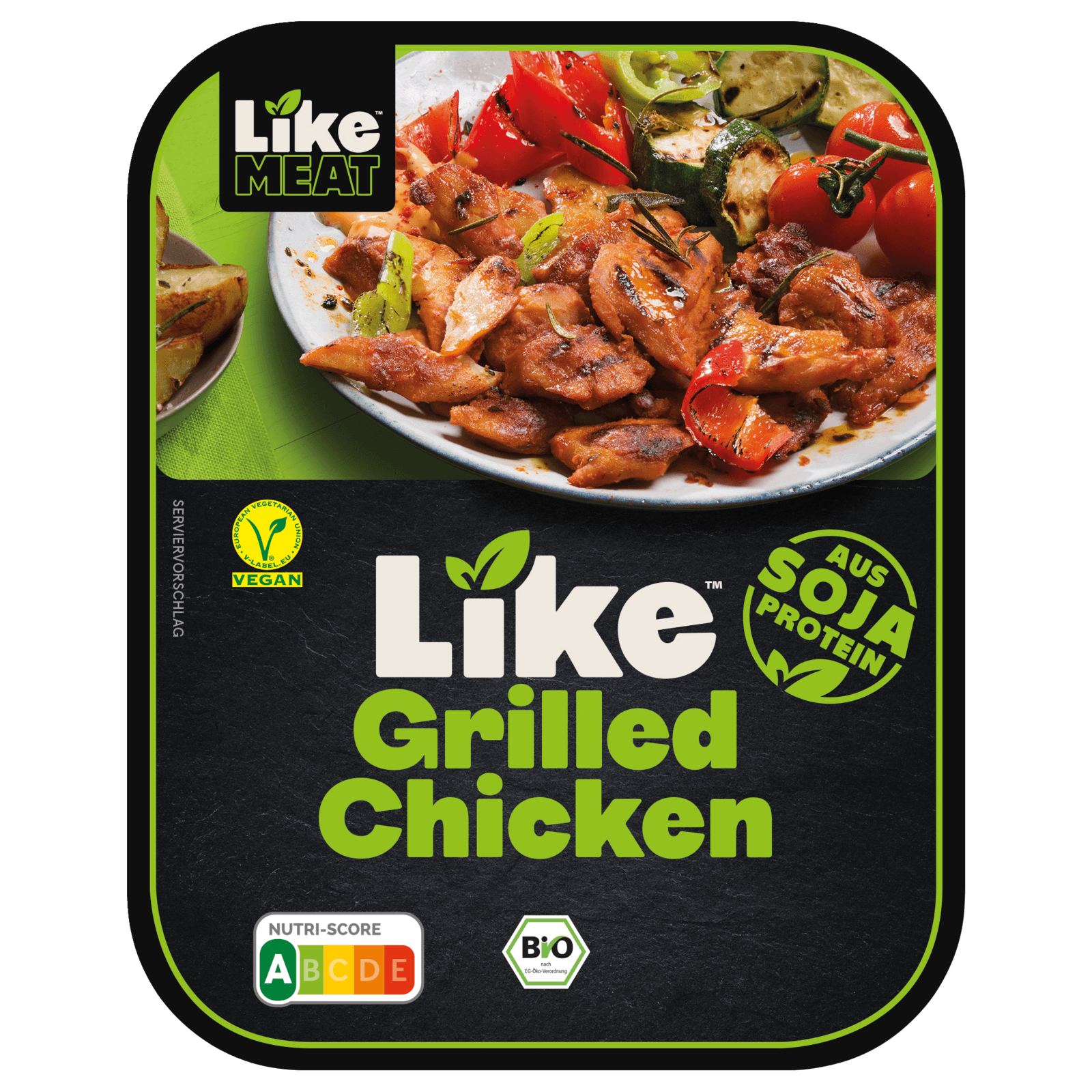 LikeMeat Bio Grilled Chicken Paprika vegan 180g bei REWE online bestellen!