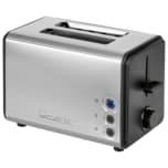 Clatronic 2 Scheiben-Toaster TA 3620 edelstahl/schwarz