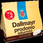 Dallmayr prodomo naturmild 16+2 Pads 126g