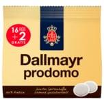 Dallmayr Prodomo 16+2 Kaffeepads 126g
