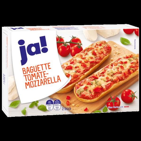 ja! Baguette Tomate-Mozarella 2x125g