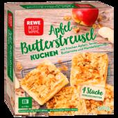 Rewe Beste Wahl Apfel-Streuselkuchen 4 Stück 500g