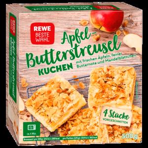 Rewe Beste Wahl Apfel Streuselkuchen 4 Stuck 500g