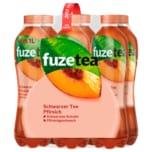 Fuze Tea Schwarzer Tee Pfirsich 6x1l